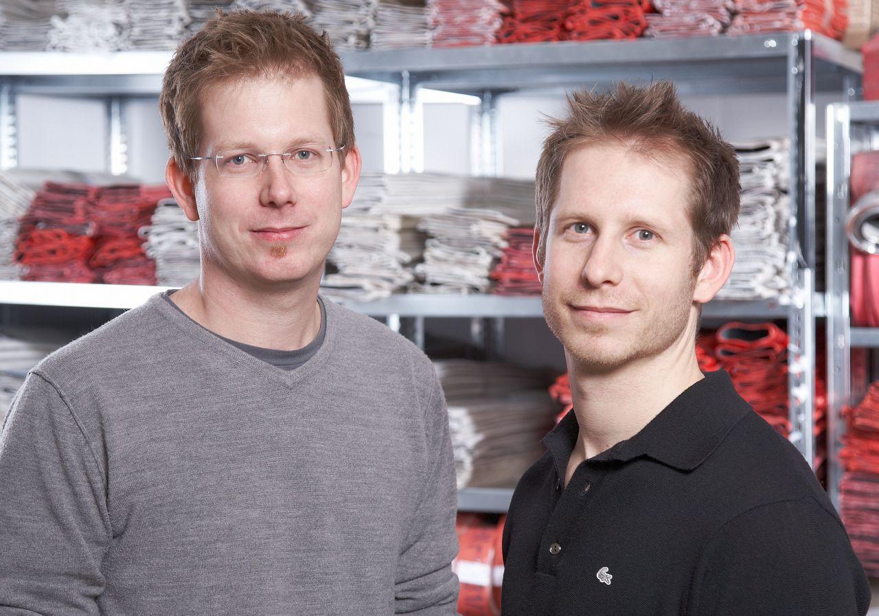 Martin und Robert Klüsener
