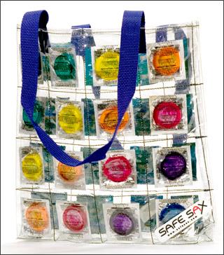 Kondom Tasche Safe Sax