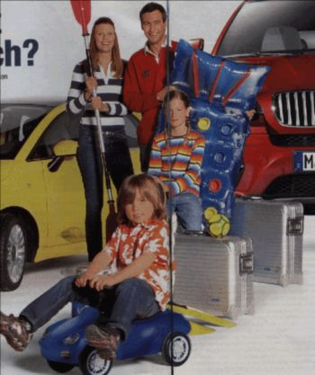 Rimowa Aluminium Koffer in der Werbung