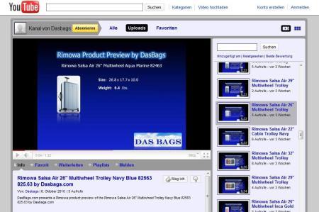 Rimowa Salsa Air Video von dasbags