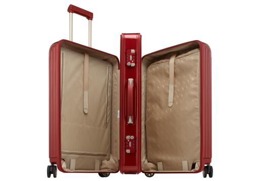 Rimowa Salsa Deluxe 3-Suiter rot