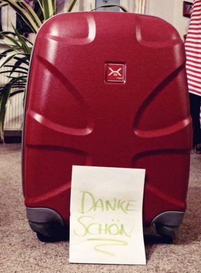 Titan Koffer bei Martin eingetroffen